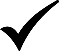 Checkmark with solid fill